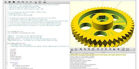 Methods of 3D Design tickets