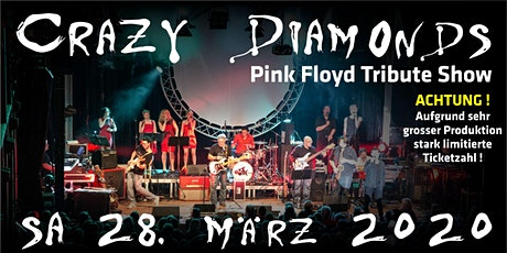 CRAZY DIAMONDS - PINK FLOYD TRIBUTE SHOW Tickets