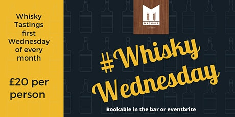 #WhiskyWednesday tickets