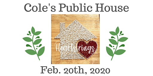 Home and Heart String Art Workshop