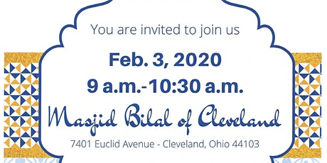 Tea with Cleveland Police Chief Calvin Williams tickets