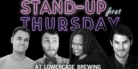 Stand-Up Comedy: Andrew Sleighter, Cameron Mazzuca, Vanessa Dawn, & Travis Nelson live at Lowercase Brewing! tickets
