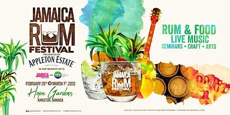 Jamaica Rum Festival 2020 tickets