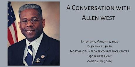 A Conversation With Allen West tickets