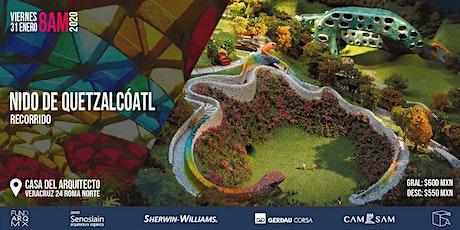 Recorrido: Nido de Quetzalcóatl  enero 2020 boletos
