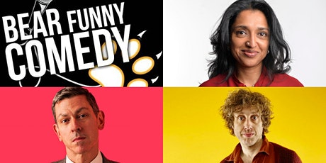 Bear Funny Comedy with Sindu Vee, David Mills and Richard Todd tickets