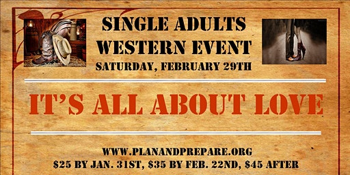 SINGLE ADULTS WESTERN EVENT