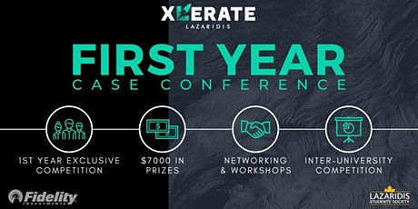 Xlerate 17th Annual First Year Case Conference tickets