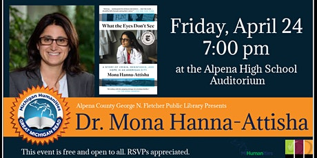 Presentation & Book Signing with Dr. Mona Hanna-Attisha tickets