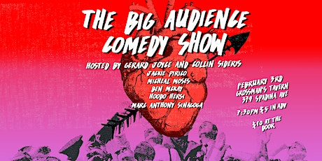 The Big Audience Comedy Show #6 tickets