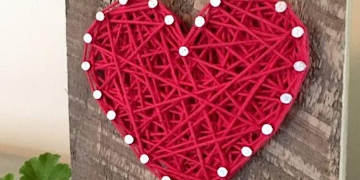 Kids Valentines String Art and Smelly Jelly Event!