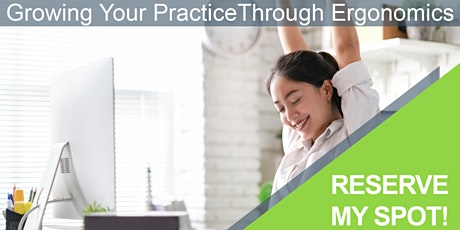 Wellness and Ergonomics for Chiropractors tickets