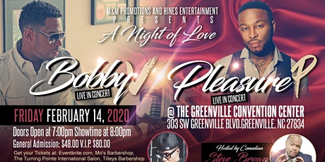 A Night of Love with Bobby V, Ricco Barrino and Pleasure P tickets
