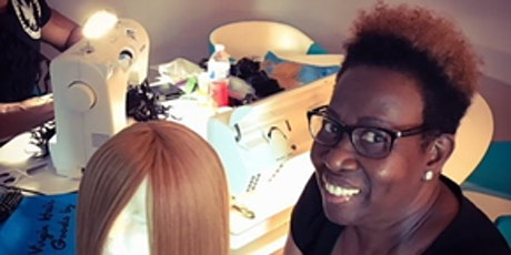 Birmingham, Al | 27 Piece or Enclosed Wig Making Class with Sewing Machine tickets