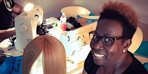 Birmingham, Al | 27 Piece or Enclosed Wig Making Class with Sewing Machine