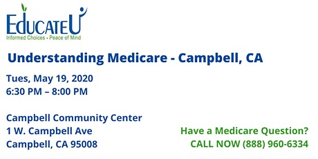 Campbell  5/19/20 - Understanding Medicare Workshop tickets