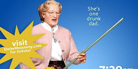 A Drinking Game NYC presents Mrs. Doubtfire tickets