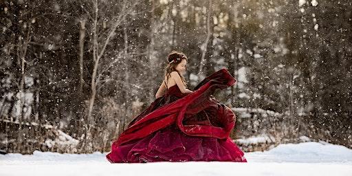 Scarlet Dress Photo Session