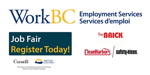Delta WorkBC - The Brick & Clean Harbors / Safety-Kleen Hiring Fair