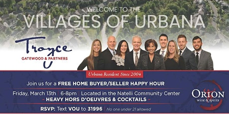 FREE Home Buyer & Seller Happy Hour tickets