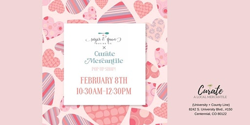 Pop Up Cookie Shop With Sugar & Spoon Baking Co.
