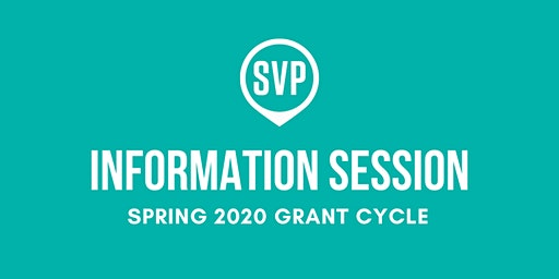 SVP Boston Spring 2020 Grant Cycle Information Session