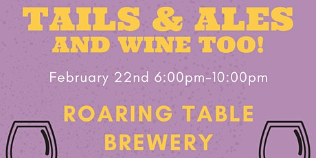 Tails & Ales with Animal House Shelter tickets