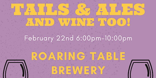 Tails & Ales with Animal House Shelter