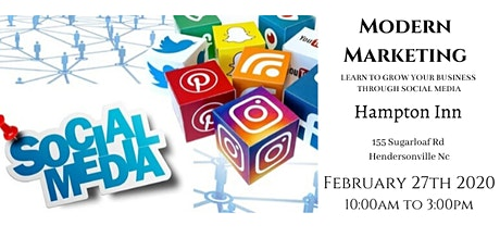 Modern Marketing Comes to Hendersonville, NC! tickets