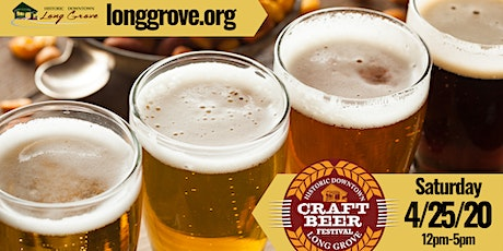 Long Grove Craft Beer Fest 2020 tickets