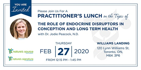 The Role of Endocrine Disruptors in Conception and Long Term Health tickets