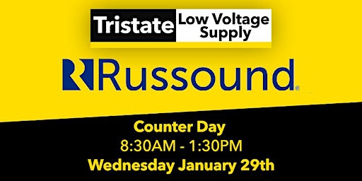 (AIRMONT) Russound Counter Day, Wednesday January 29th 2020
