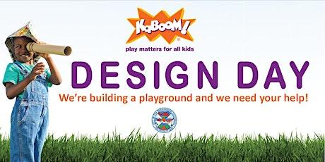 KaBOOM! Design Day tickets