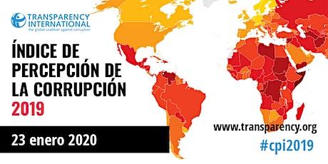 Presentación del Índice de Percepción de la Corrupción 2019 entradas