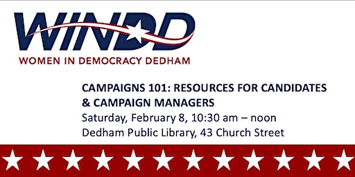 CAMPAIGNS 101: RESOURCES FOR CANDIDATES AND CAMPAIGN MANAGERS