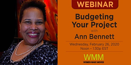 Part III — Budgeting Your Project with Ann Bennett tickets