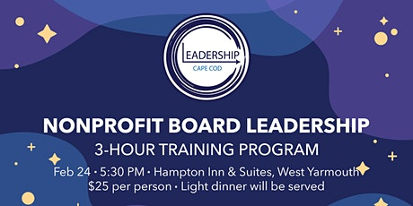 LCC Nonprofit Board Leadership tickets