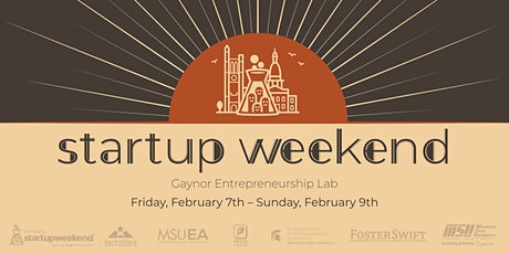 East Lansing Startup Weekend tickets