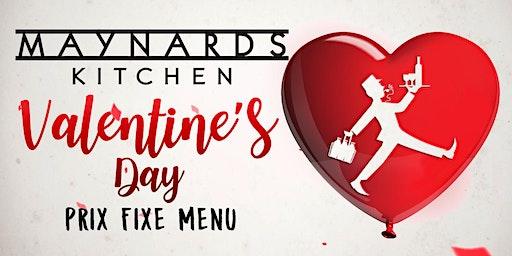 Valentine's Dinner at Maynards Kitchen