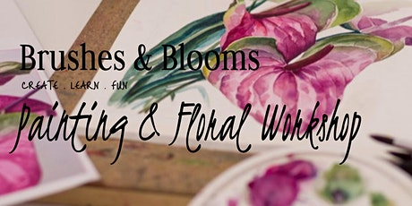 Brushes & Blooms Workshop tickets