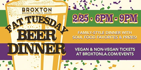 Fat Tuesday Beer Dinner! tickets