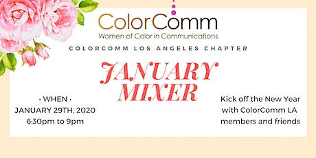 ColorComm LA January Mixer tickets