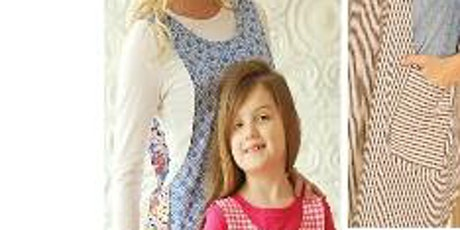 The Cross Back Reversible Adult/Child's Apron tickets