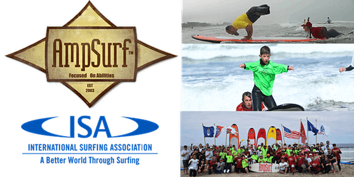 Learn to Surf Clinic at AMPSURF ISA World Paralympics Surfing Championships