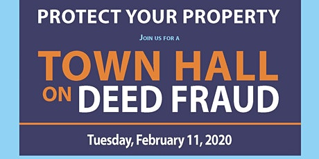 Protect Your Property: Town Hall on Deed Fraud tickets