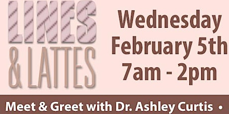 Lines and Lattes with Dr. Ashley Curtis tickets