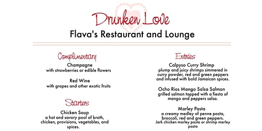 Drunken Love Valentine's Dinner & Party
