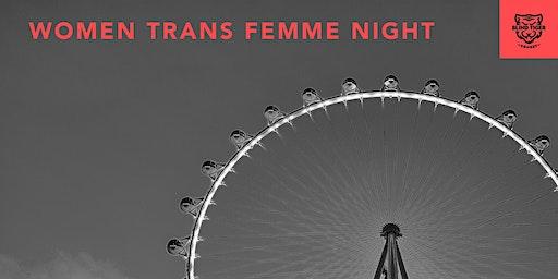 BTC FREE Improv Class - WTF (Women Trans Femme) Night