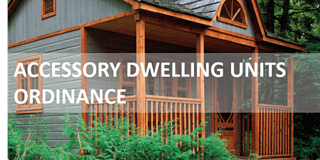 Accessory Dwelling Unit Workshop tickets