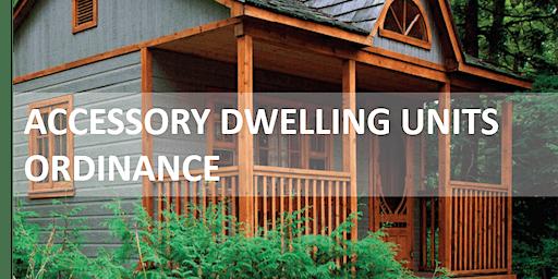 Accessory Dwelling Unit Workshop